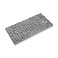 3D панель из талькомагнезита лабиринт 590х295