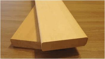 Доска на полки канадский кедр, 25х94, шлифованная, сорт Экстра, светлая (Д)