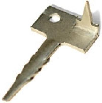 Скрытый крепеж для террасной доски Ключ