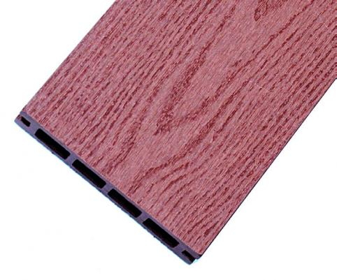 Террасная доска, цвет РЯБИНА, 25x135 мм, древесно-полимерный композит