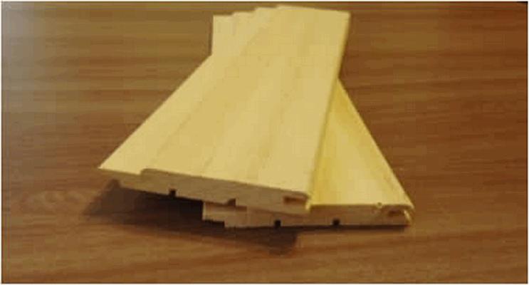 Вагонка абаш африканский, сорт Экстра, 12х95мм (85мм) (Д)