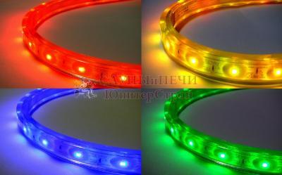 Герметичная светодиодная лента SMD 5050 60LED/m IP68 12V RGB (Р)
