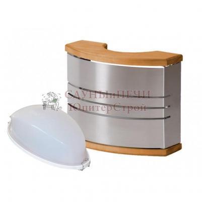 HARVIA Светильник для сауны, сталь SAS21106