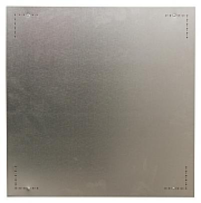 19802 Экран сталь 1 мм, нержавеющая сталь, 90х90 см Misa