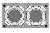 Комплект Schiedel 0,33 п.м. двуходовой без вент канала Д=160/180, UNI, 320х640