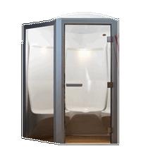 TYLO Паровая кабина ELYSEE 10F глянцевый белый пластик/белый профиль, 96091040