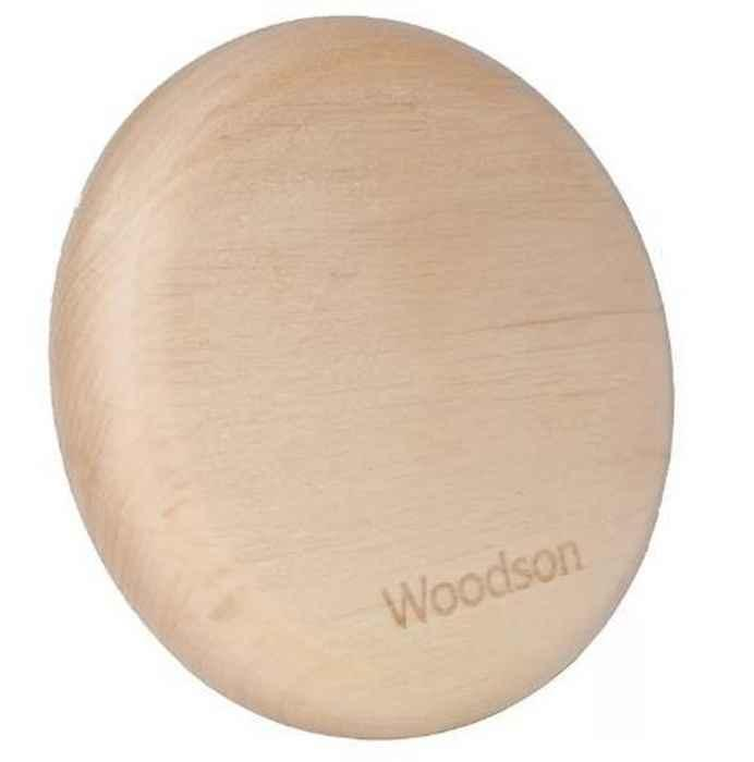 Вентиляционная заглушка Woodson (D100 мм, ольха), 19105